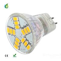 Wholesale mr11 12v - MR11 G4 4W 15PCS 5730SMD LED Spotlights DC12V LED Spot Bulbs with 2 Years Warranty