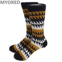 Wholesale Mens Socks For Winter - mens brand cotton winter happy socks cotton art jacquard novelty socks mens love socks black style funny sox for men women 100pc DHL