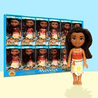 Wholesale Girls Toy Dolls - Moana of Oceania Adventure Doll Movies Action Figures Moana Minifigures Cartoon Toys For Girls Babies Gift IMMEDIATELY DELIVERY