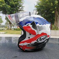 Wholesale Women Motorcycles Helmets - Free shipping New ARAI New motorcycle helmet racing helmet cross country half helmet men and women sunscreen helmets 2017