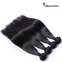 ücretsiz gönderim bakire saç toptan satış-Bakire Brezilyalı Saç Malezya Perulu Moğol Kamboçyalı Hint Işlenmemiş Düz İnsan Saç Paketler En Iyi İnsan Saç Ücretsiz Kargo