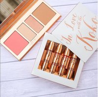 Wholesale Doll Lip - Kylie Cosmetics KOKO Kollection 2 liquid lipstick Lip gloss Set Kit In Love With the koko Doll Sugar Plum Bunny Baby Girl