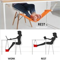 Wholesale Furniture Office Desks - Hammock for Office Siesta Afternoon Sleep Nap with Desk Hanger Hammock Rest Foot Noon Time Snooze Outdoor Furniture