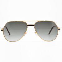 Wholesale Decorative Sunglasses - Brand Designer Metal Frame Bright Red Black Gem Decorative Sunglasses Driving Sports Fashion Beach Unisex Sunglasses Box