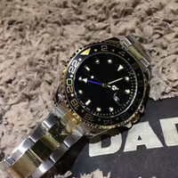 Wholesale Luxury Diving Watches For Men - brand name luxury men's watches AAA mechanical automatic watch stainless steel wristwatch with 24 hours rotary loop men watches for diving