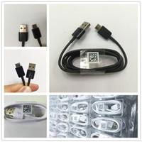 ingrosso cavo intrecciato di alta qualità-Per S8 C9 A7 / 5 Cavo di tipo C di alta qualità 1.2 m Dati con buona ricarica USB Data Sync pacchetto
