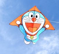 Wholesale Toy Parts Plastic Wheels - The new jingle cats children weifang kite eagle to fly large adult cartoon ShaYan triangle breeze good wiring wheel