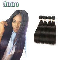 Wholesale Ali Queen - 8A mink brazilian virgin hair straight bundles human hair weave Ali Queen Hair products virgin brazilian straight bundles