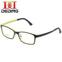 Wholesale Eyeglasses W - Wholesale- DEDING KIDS Children Oversize Frame Clear Lens Eye Glasses (Age 5-12) Boy Girl durable eyeglasses w silicon nose pads DD1365