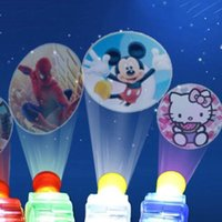 cartoon toys pictures - LED MINI Finger Lamp Cartoon Projection Finger Movie Lights Different Pictures Lights Light up Rings Party Kids Toy For Children Gift