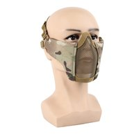 Compra Proteger paintball-Tactical Half Face Mask Proteger Metal Net Steel Boca Paintball CS Accesorios
