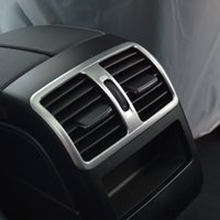 Wholesale Decoration Vent Cover - Car Interior Rear Air Conditioning Vent Decorative Cover Trim Air Outlet Frame For Mercedes Benz GLK X204 200 260 300 2008-13