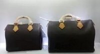 Wholesale Large Black Evening Bag - Luxury Handbags Women Bags Designer Famous Never Handbag Large tote Bag Speedy Evening Bolsa 30cm 35cm