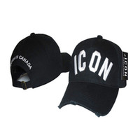 Wholesale Female Sports Wear - Wholesale- 2017 ICON brand hat male and female cap cowboy hats worn sports leisure mask hat jeans designer