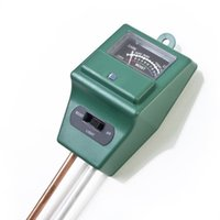 Wholesale High Quality Soil Moisture Meter - 3 in 1 Analysis soil tester hygrometer   illumination   pH meter light soil moisture meter High Quality