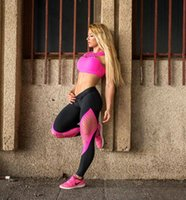 Wholesale Print Leggins Xl - Women Yoga Pants Fitness Leggins Hollow Gym Clothing Pant Workout Running Tight Sport pants