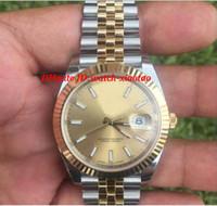 Wholesale 41 Mm - Luxury Wristwatch 41 Steel & Yellow Gold Watch Jubilee Stainless Steel Bracelet 126333 UNWORN Automatic Men Watch Men's Watch Watches