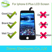 Wholesale Cheap Iphone Screens - 2017 Original OEM lcd display for iphone 6 plus,cheap price digitizer lcd screen for iphone 6 plus 64gb