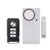 alarma sirena puerta sensor al por mayor-Control remoto oportuna Alarma antirrobo Seguridad para el hogar Ventana de la puerta 105 dB Sirena Sensor magnético Sistema de advertencia Detector