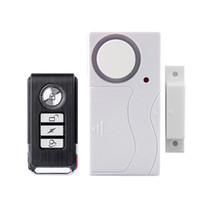 alarme à distance de la fenêtre de porte achat en gros de-Télécommande en temps opportun Alarme Cambrioleur Fenêtre de porte de sécurité à la maison 105 dB Sirène Capteur magnétique Système Détecteur Détecteur