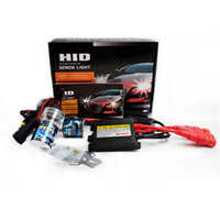 1 set Auto HID luz única 35W H1 6000k 8000K Slim Ballast Kit HID Xenon Bulb 12V hight power Headlight