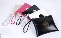 Wholesale Casual Fashion Style For Women - 2016 MIMCO Medium Pouch Small Black White Large MIMCO Patent Leather Wallet Handbag For Women Clutch Bags MIMCO Purse Wholesale