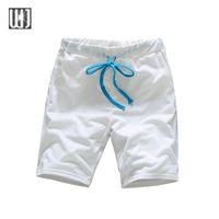 Wholesale Cheap Wholesale Beach Balls - Wholesale-Cheap Sales 2016 Summer Men's Shorts Men Casual Ball Shorts Homme Cotton Men Beach Solid Shorts