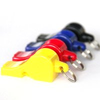 Wholesale plastic fox - FOX40 Whistle Plastic FOX 40 Soccer Football Basketball Hockey Baseball Sports Classic Referee Whistle Survival Outdoor 3004016