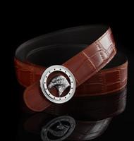ingrosso aquila della cintura-Cinturino in pelle da uomo di marca Eagle Fashion nuovo marchio AAA Cinturini per cinturino fibbia in metallo cinture da uomo cinture di design di lusso da uomo di alta qualità