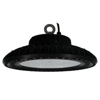150W impermeabile Dustfree UFO LED Luce Workshop Light Meanwell Driver Industriale alta baia Giù illuminazione Hooked Mounted 5700K Cool White