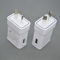 Wholesale New Zealand Charger - Sample 2pcs For Australia New Zealand 2A AU Plug USB AC Power wall home charger for Samsung Galaxy Note N7100 S3 S4 S5