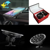 Wholesale Wireless G3 - Multi-Funtion Qi Wireless Charger Charging Pad Phone Holder Wireless Car Charger For iphone 8 x Samsung S6 S7 S7 Edge Note 5 LG G3 G4