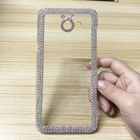 Wholesale Mega Clear Case - Bling Glitter Case For Samsung Galaxy C9 Pro S3 Mini S4 N7505 Ace 2 I8160 Mega 5.8   6.3 Shining Back Cover Protective Phone Cases Coque Hot