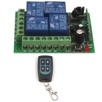 All'ingrosso 12V 4 canali Auto RF Wireless Remote Control modulo di relè interruttore Circuit Board