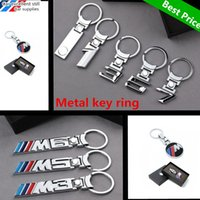 Wholesale Metal Keychain Price - Best Price 3D Metal key chain car styling decoration accessories car emblem keychain auto Key Rings for BMW 1 3 5 6 7 8 x series