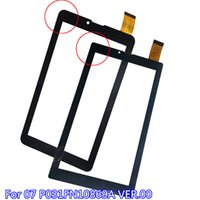 Wholesale Glass Panels For Windows - Wholesale- ALANGDUO for F07 P031FN10869A VER.00 Tablet Touch Screen Digitizer Glass Panel Front Sensor Touchscreen Window Replacement