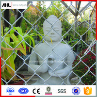 Wholesale High Quality Garden Outdoor Galvanized PVC Stainless Steel Chain Link Wire Mesh Fence