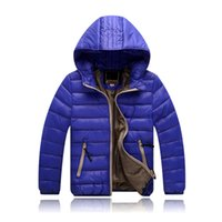 Wholesale Down Jacket Kids Duck - Children Jackets Boys Girl Korean fashion down coat, 3-12 Years Baby Winter Warm Coat Kids fashion thick warm winter hooded Coat