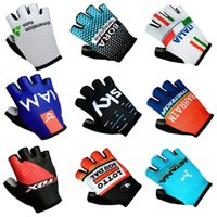 Wholesale Cycling Gloves Tour - 2017 Tour de France New SKY BORA LAMPRE DATA FOX ITALIA ASTANA LOTTO IAM BAHRAIN Cycling Gloves racing MTB TEAM gloves Bike bicycles with Ge