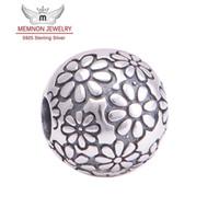 gümüş boncuk çekirdekleri toptan satış-Memnon Jewery gümüş boncuk Fit marka Bilezik DIY 925-sterling-gümüş Takı Kilit Klip Çekirdek Stoper boncuk charms güzel takı KT085-N