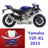 Wholesale Yamaha Yzf R1 Headlights - Motorcycle high quality 3M sticker fit for 2015year -Yamaha-YZF-R1