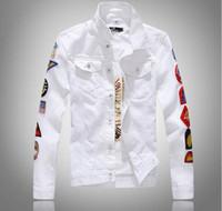 Wholesale Chaqueta Denim Hombre - 2017 fashion chaqueta hombre denim jacket fear of god long sleeve justin bieber denim casual Streetwear