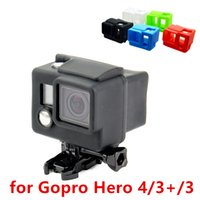 Wholesale gopro protective case resale online - For Gopro Accessories Color Options Silicone Dustproof Protective Skin Case Cover For Gopro HD Hero6 black GP98
