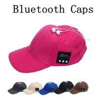 Wholesale Music Army - Summer Wireless Bluetooth Music Caps Headphone Sports Baseball Cap Handsfree Headset Sun Hat Music Headphone Speaker 100pcs OOA1853