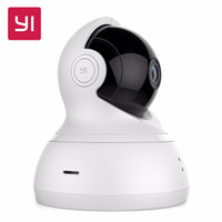 [International Edition] Xiaomi YI Dome Home Telecamera IP 112 Wide Angle 720P 360 Chiamata vocale a due vie Infrarossi Night Vision WiFi Cam