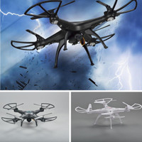 Wholesale 4ch Usb - New M96 6-Axis Gyro 2.4G 4CH RC Quadcopter drone One-press Return USB charging Gorgeous LED lights