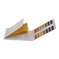 prueba de ph prueba de tira al por mayor-80 Tiras / pieza Prueba de pH Litmus Prueba de papel Rango completo 1-14 pH Indicador alcalino ácido