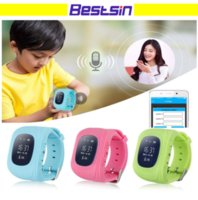 Wholesale remote locator - Q50 GPS GSM GPRS Smart Watch For Kids Locator Tracker Anti-Lost Remote Monitor Children Anti-Lost With the Retail Box