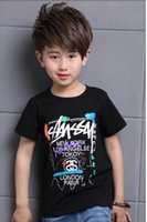 Wholesale 2017 new summer Children clothes baby boys short sleeve T shirt casual kids clothing pure cotton breathable t shirt for boys