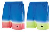 Wholesale man change - Victor Badminton shorts,Top new 2017 victor Table tennis Badminton Shorts For Women Men gradually changing color sportwear shorts M-4XL